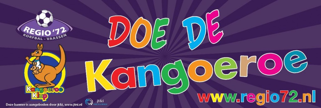Banner Kangoeroe