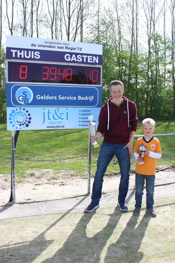 Sander Punt en Thijs van 't Erve schutterkampioenen 2015