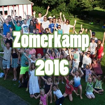 Geef je nog snel op voor zomerkamp 2016!