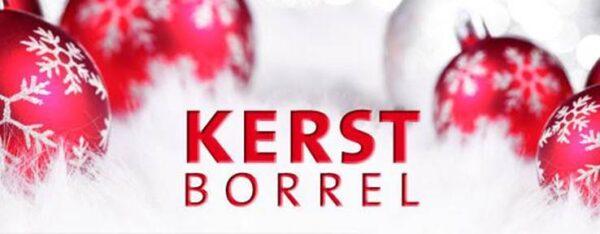 Kom gezellig naar de kerstborrel op woensdag 21 december.