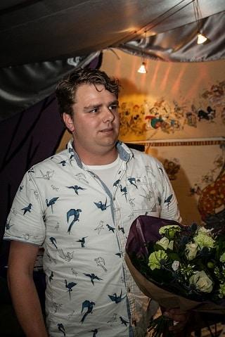 Vrijwilliger van het jaar: Dion Scholten