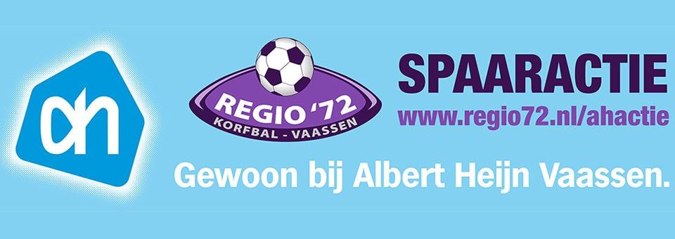 Unieke spaaractie Albert Heijn en korfbalvereniging Regio'72.